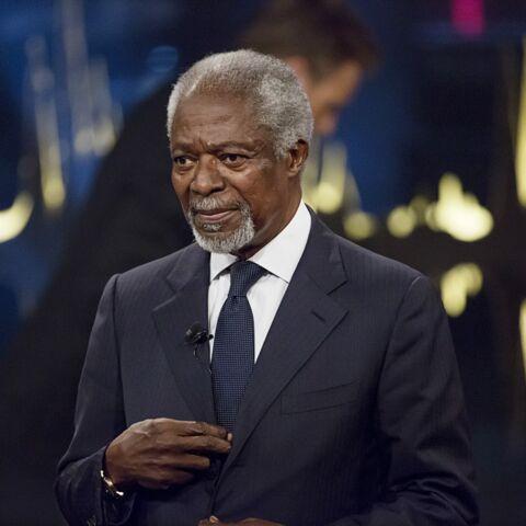 Kofi Annan, l'ancien secrétaire général des Nations Unies, est décédé