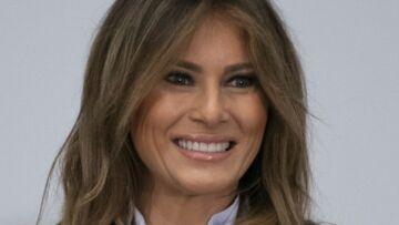 PHOTOS – Melania Trump, tout sourire, fait bonne figure malgré les rumeurs de divorce