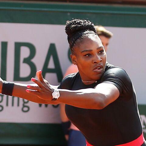 PHOTOS – Serena Williams: pourquoi elle ne pourra plus porter sa combinaison noire moulante au prochain Roland-Garros?