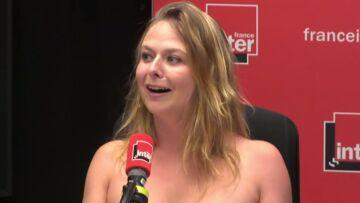 Pourquoi l'humoriste Constance a-t-elle terminé sa chronique seins nus sur France Inter?