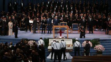 PHOTOS: Obsèques d'Aretha Franklin: une cérémonie grandiose et un parterre de stars
