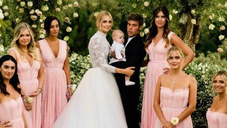 ae65f5bd020 PHOTOS- Meghan Markle   elle inspire l influenceuse Chiara Ferragni pour  son sublime mariage