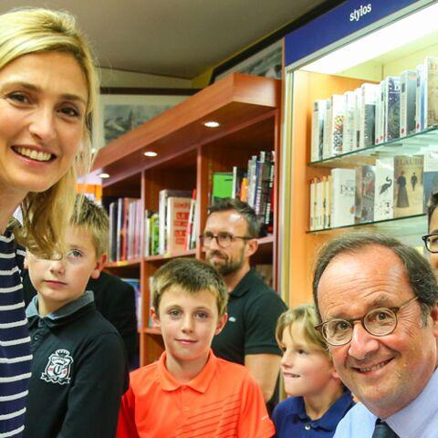 PHOTOS –Julie Gayet à la rescousse de François Hollande: son livre se vend moins que ceux de ses prédécesseurs