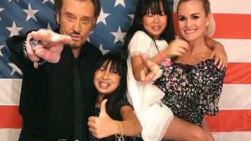 Pourquoi Johnny Hallyday voulait que ses enfants vivent aux États-Unis