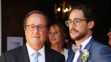 François Hollande n'a pas pu s'empêcher de faire une petite blague au mariage de son fils Thomas