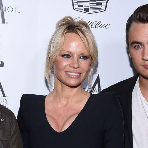Pamela Anderson (Danse avec les stars), maman très fière de ses deux fils