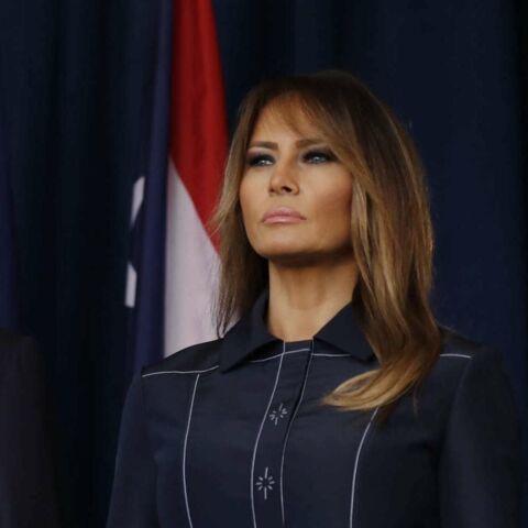 PHOTOS – Melania Trump fidèle à son styliste français, sa robe bientôt disponible à la vente