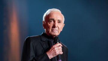 Charles Aznavour, son regret pour David Hallyday depuis la mort de Johnny