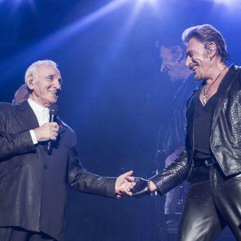 L'entourage de Johnny Hallyday pris à partie par Charles Aznavour: le chanteur laisse entendre qu'on l'a empêché de voir son ami