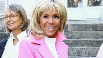 VIDÉO – Brigitte Macron: son (très) drôle de clin d'oeil à Valérie Trierweiler