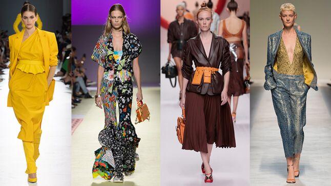Fashion Week de Milan nbsp   les 5 tendances mode  agrave  retenir pour le  printemps 3a70426fe71