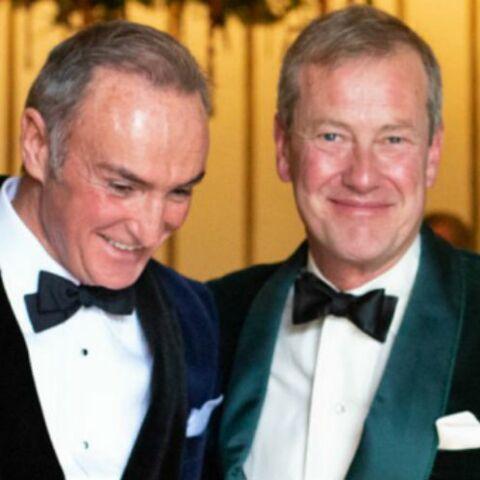 Premier mariage gay chez les Windsor: Ivar Mountbatten, cousin de la reine Elizabeth II, a épousé son compagnon