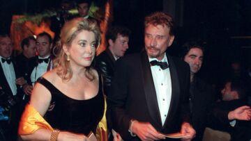 PHOTOS – Johnny Hallyday: sa tendre complicité avec Catherine Deneuve à travers les décennies