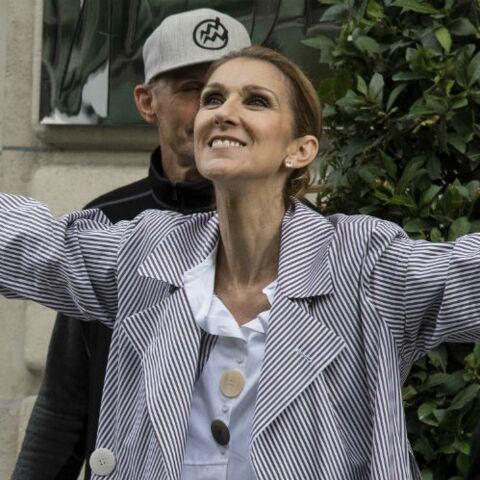 Céline Dion célèbre son prochain départ de Las Vegas avec un look très surprenant