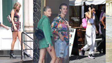 PHOTOS – Comme Kendall Jenner et Hailey Baldwin, craquez pour le sac à dos, ultra tendance cette saison