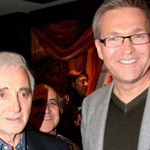 Charles Aznavour: comment est née sa belle amitié avec Laurent Ruquier
