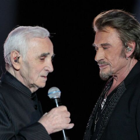 Charles Aznavour: le jour où il a recueilli Johnny Hallyday chez lui