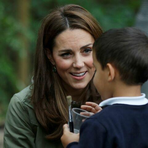 Kate Middleton, en visite dans le parc de Paddington: tous ces signes qui montrent son aisance avec les enfants