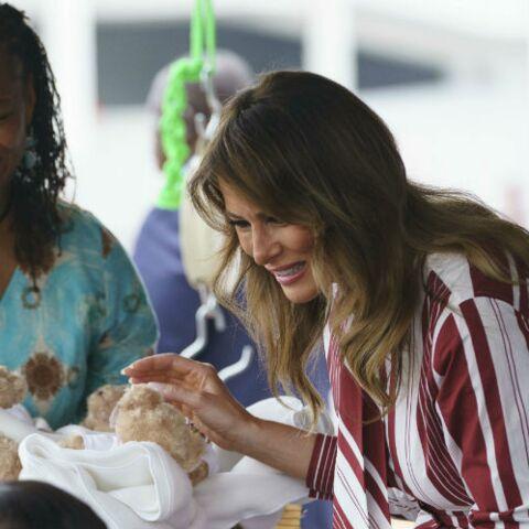 PHOTOS – Melania Trump: son geste plein de tendresse envers un bébé, lors de sa visite au Ghana