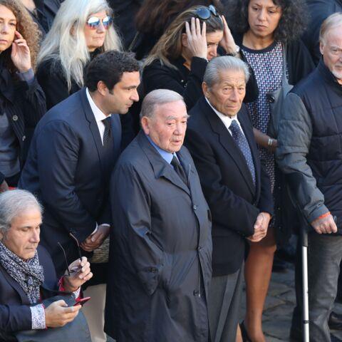 Levon Sayan, l'ancien producteur de Charles Aznavour, présent à l'hommage national aux Invalides, malgré leur brouille
