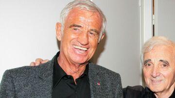 VIDÉO – Hommage national à Charles Aznavour: les mots de Jean-Paul Belmondo, affaibli mais très ému
