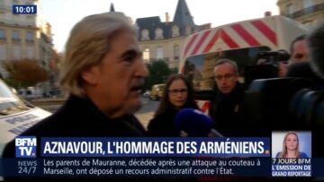 Pourquoi Serge Lama était absent de l'hommage à Charles Aznavour aux Invalides