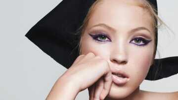 Découvrez Lila Moss, la fille de Kate Moss, qui devient égérie beauté à 16 ans