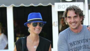 PHOTOS – Laeticia Hallyday et Sébastien Farran: les retrouvailles à Marnes-la-Coquette