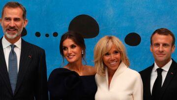 Brigitte et Emmanuel Macron: la surprise qu'ils ont réservée à Letizia et Felipe d'Espagne