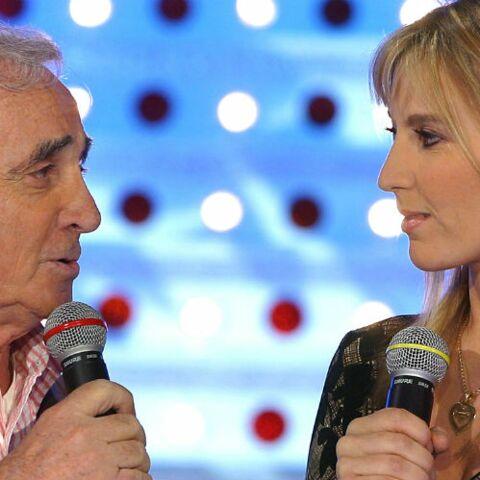 EXCLU – Charles Aznavour, un père très pudique avec sa fille Katia