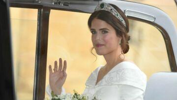 PHOTOS – Mariage d'Eugénie d'York: les premières photos de sa robe de mariée audacieuse et décolletée