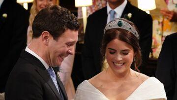 VIDÉO – Mariage d'Eugénie d'York: ce moment cocasse lors de l'échange des alliances