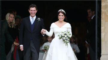 VIDÉO – Mariage d'Eugénie d'York: Le tendre baiser échangé par les jeunes époux