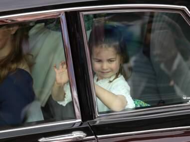 Au mariage d'Eugénie d'York, la princesse Charlotte se rattrape de justesse sur les marches de la chapelle