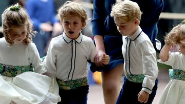 VIDEO – Mariage d'Eugénie d'York: cet enfant qui vole la vedette à George et Charlotte