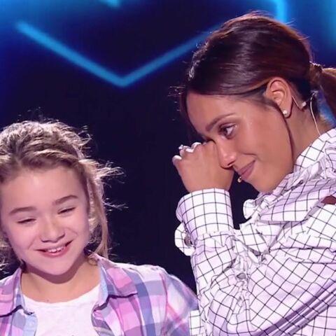 PHOTOS – Amel Bent (The Voice Kids), émue aux larmes devant une fillette qui reprend sa chanson