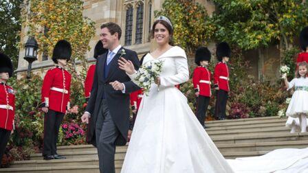 Eugenie d\u0027York, plus dépensière que Meghan Markle  sa robe de mariée bat