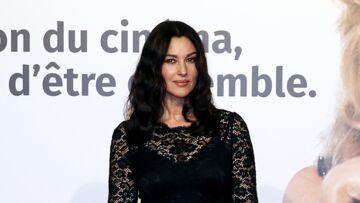 PHOTOS – Monica Bellucci, divine en robe dentelle noire affiche ses courbes sensuelles au Festival Lumière à Lyon