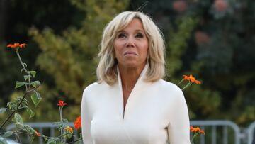 Brigitte Macron: ce cadeau fait main que lui a offert Mamie Rock, la grand-mère de Laeticia Hallyday