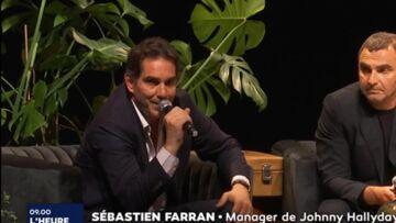 VIDEO – Sébastien Farran répond aux critiques sur le rôle de Laeticia Hallyday dans la réalisation de l'album