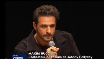 VIDÉO – Album posthume de Johnny Hallyday: Maxim Nucci, ému aux larmes, évoque «une épreuve épouvantable»