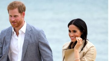 Meghan Markle et Harry à la plage, le temps fort très attendu du royal tour