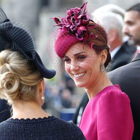 PHOTOS – Comme Laeticia Hallyday et Kate Middleton, craquez pour le rose fuchsia pour égayer l'hiver