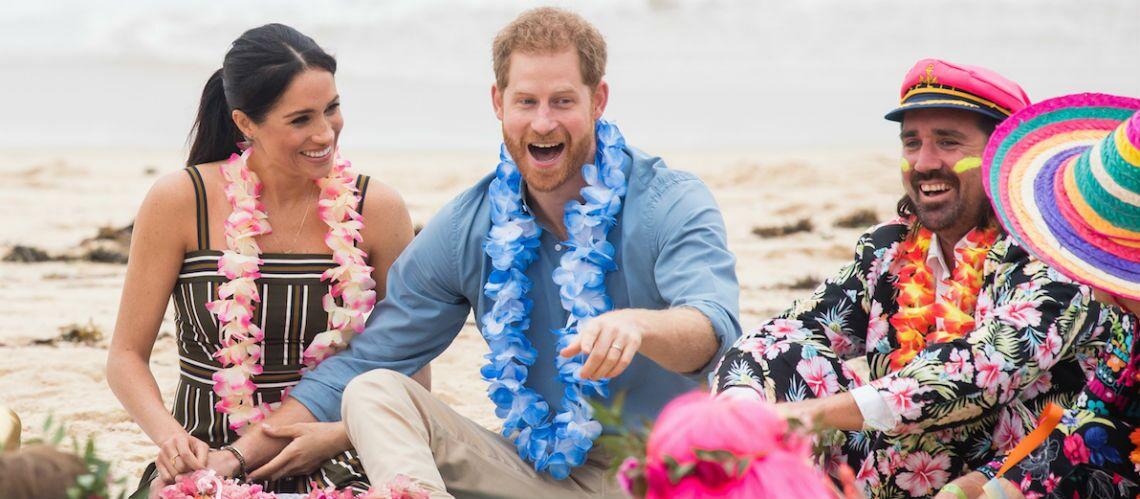 PHOTOS – Meghan Markle et le prince Harry, en mode hippie à Bondi Beach, en Australie - Gala