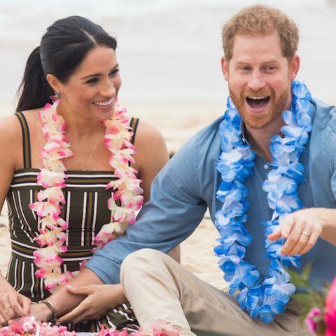 PHOTOS – Meghan Markle et le prince Harry, en mode hippie à Bondi Beach, en Australie