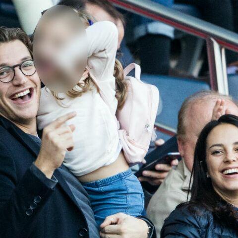 PHOTOS – Jean Sarkozy, premier supporter du PSG avec sa femme Jessica et leurs enfants