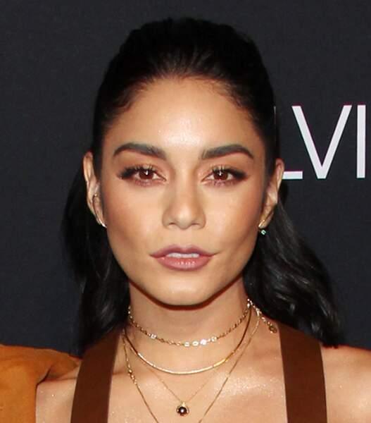 Vanessa Hudgens doit parfois camoufler quelques imperfections sous son maquillage red carpet
