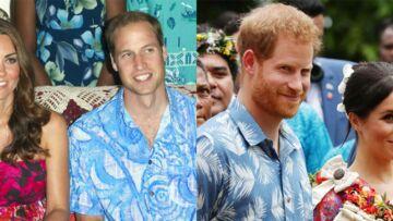 PHOTOS – Meghan Markle et Harry dans les pas de William et Kate Middleton: ils copient même leurs tenues