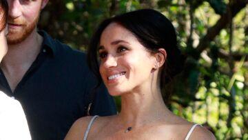 Meghan Markle, enceinte: pourquoi elle ne quitte pas son bijou porte-bonheur en Australie?