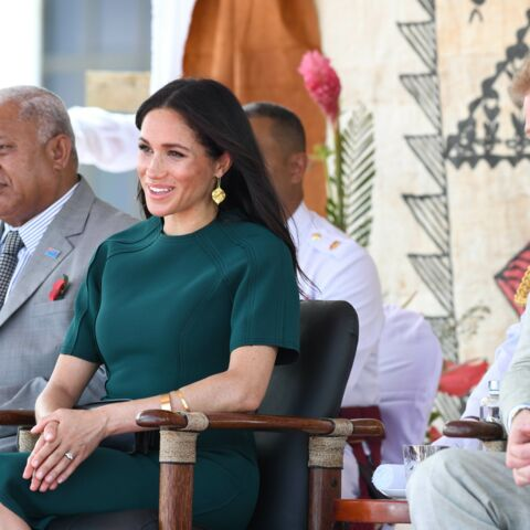 PHOTOS – Meghan Markle la main sur le ventre, la future maman souriante après son coup de fatigue